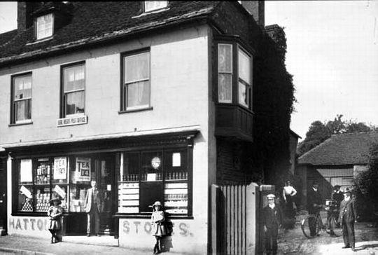 Fotografias antiguas de negocios: